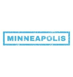 Minneapolis rubber stamp vector