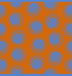 Polka dot seamless pattern with abstract circles vector