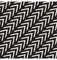Seamless Chevron ZigZag Diagonal Lines vector image vector image