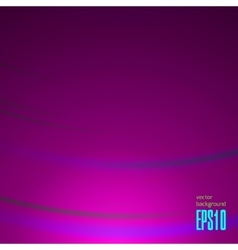Shiny Magical Wave Background vector image