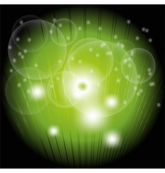 Abstract dark green circle burst background design vector