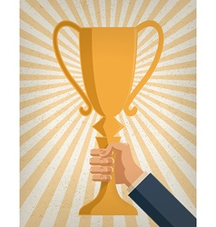 Business achievement vector