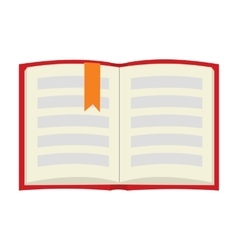 Book flat icon vector