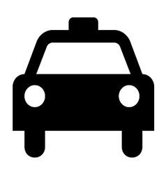 Taxi symbol vector