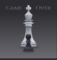 Chess figures vector