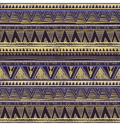 Seamless ethnic geometric knitted pattern violet vector