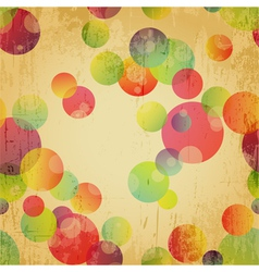 Retro Colorful Seamless Pattern Wallpaper vector image