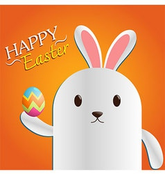 Easter day bunny vector