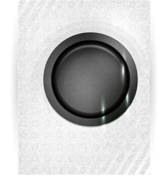 Abstract background lines Button vector image