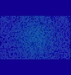 binary programming code digital technology vector image