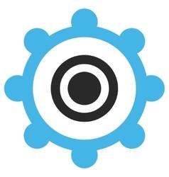Cog wheel eps icon vector