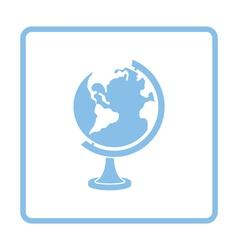 Globe icon vector image vector image