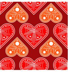 heart love valentine card love hearts vector image