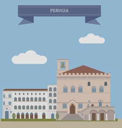 Perugia vector image vector image