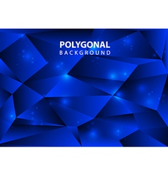 Polygonal background db vector