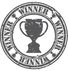 Winner Stamp vector image