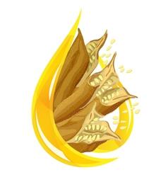 sesame oil vector image
