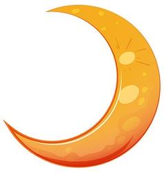 A moon vector