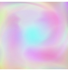 Abstract background with holographic effect vector