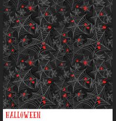 Cobweb seamless pattern halloween vector