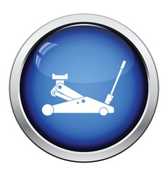 Hydraulic jack icon vector