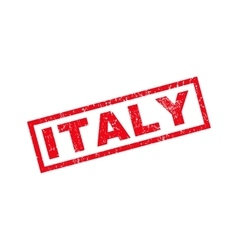 Italy Rubber Stamp vector image vector image