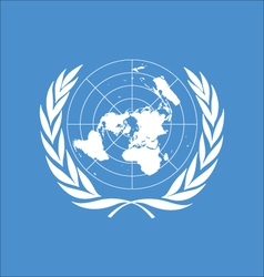 Logo of united nations vector