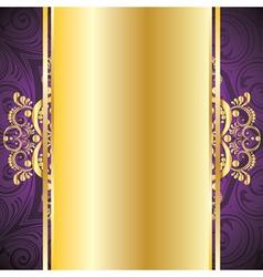 Purple Decorative Background vector image vector image