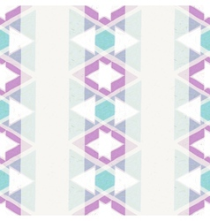 seamless hand drawn geometric pattern vector image