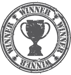 Winner Stamp vector image vector image