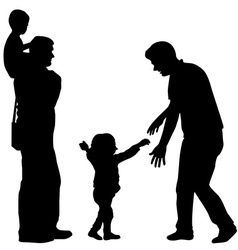 Gay family vector image vector image