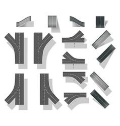map design elements vector image