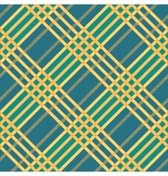 Plaid seamless tartan pattern Diagonal texture vector image vector image