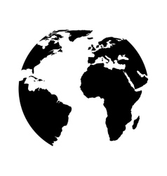 planet icon design design vector image vector image