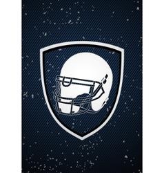 american football badge vector image