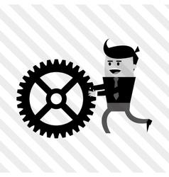 Businessman design business icon cartoon concept vector