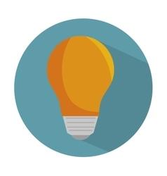 bulb light energy d icon vector image