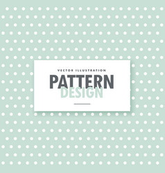 Clean polka dots background in vintage colors vector