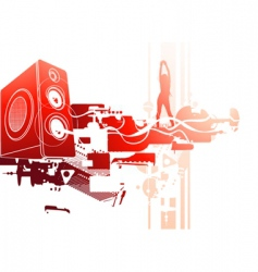 hot volume vector image