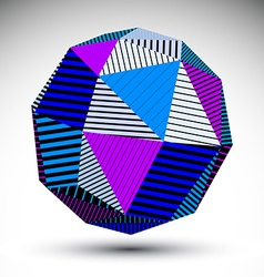 Symmetric spherical 3d technology saturated vector