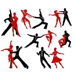 Ballroom dancing - 5 vector