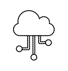 cloud technology computing communication vector image