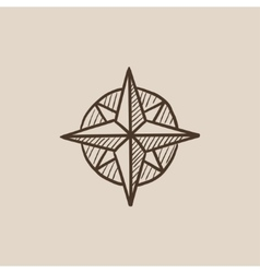 How To Draw An Old Fashioned Compass Rose