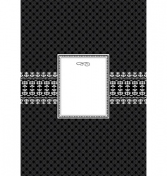 frame poster vector image