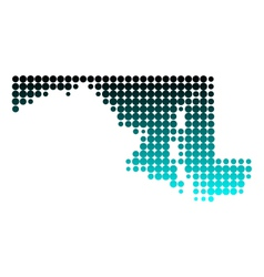 Map of Florida Royalty Free Vector Image  VectorStock