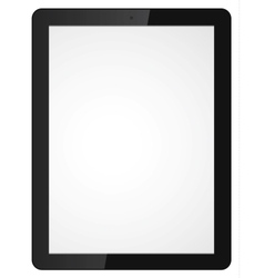 modern tablet computer vector image vector image