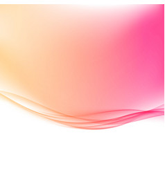 Modern transparent border swoosh wave lines vector