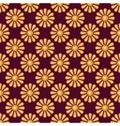 Seamless pattern with precious gem topaz vector