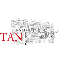 Tan word cloud concept vector
