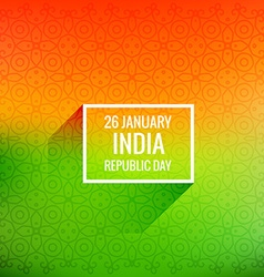 26 january republic day vector